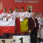 C.M Serbia 2011-locul 1-kata echipe
