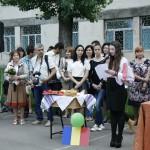 Festivitatea de deschidere - prezentarea/hora Romaniei