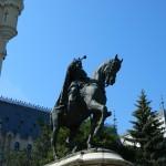 Piata Palatului - Statuia lui Stefan cel Mare 1